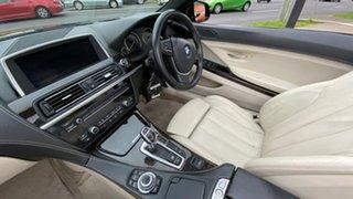 2011 BMW 6 Series F12 MY0911 640i Steptronic Black 8 Speed Sports Automatic Convertible