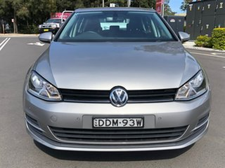 2015 Volkswagen Golf VII MY16 92TSI DSG Trendline Silver 7 Speed Sports Automatic Dual Clutch.
