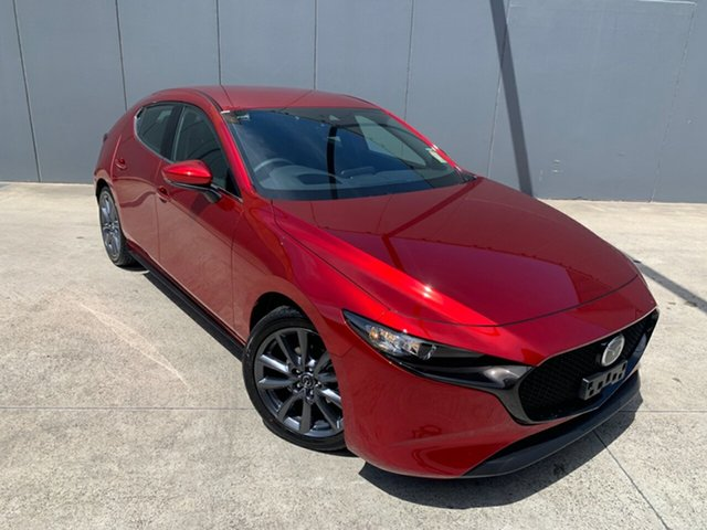 New Mazda 3 BP2H7A G20 SKYACTIV-Drive Touring Alexandria, 2020 Mazda 3 BP2H7A G20 SKYACTIV-Drive Touring Soul Red Crystal 6 Speed Sports Automatic Hatchback