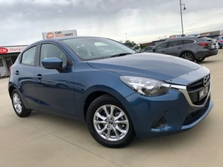 2018 Mazda 2 DJ2HAA Maxx SKYACTIV-Drive Eternal Blue 6 Speed Sports Automatic Hatchback.