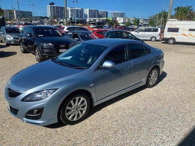 Used Mazda 6 6C Touring Arundel, 2012 Mazda 6 6C Touring Blue 6 Speed Automatic Sedan