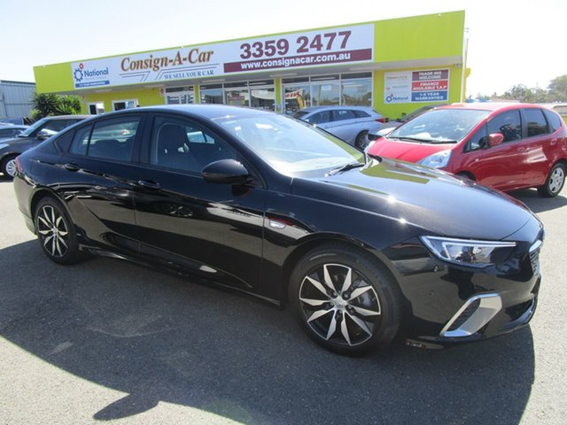 Used Holden Commodore ZB MY19 RS Liftback Kedron, 2018 Holden Commodore ZB MY19 RS Liftback Black 9 Speed Sports Automatic Liftback