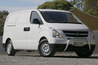 2015 Hyundai iLOAD TQ2-V MY15 Crew Cab White 6 Speed Manual Van.