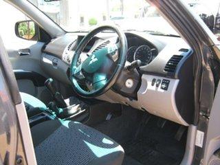 2013 Mitsubishi Triton Grey 5 Speed Manual Dual Cab.