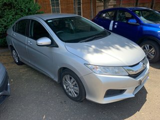 2014 Honda City GM MY14 VTi Silver 1 Speed Constant Variable Sedan