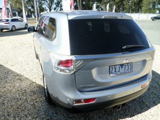 2013 Mitsubishi Outlander ZJ MY14 LS (4x2) Silver Continuous Variable Wagon