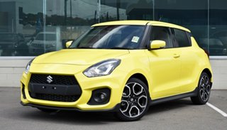 2020 Suzuki Swift AZ Series II Sport Champion Yellow 6 Speed Manual Hatchback.