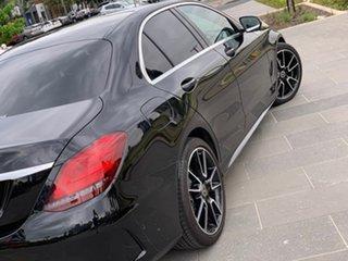 2020 Mercedes-Benz C-Class W205 800+050MY C200 9G-Tronic Black 9 Speed Sports Automatic Sedan