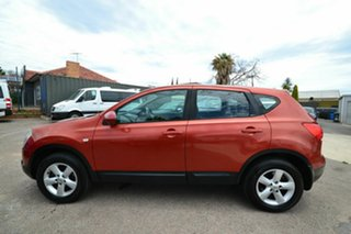 2008 Nissan Dualis J10 TI (4x4) Orange 6 Speed Manual Wagon