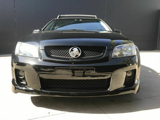 2010 Holden Commodore VE MY10 SV6 Black 6 Speed Automatic Sportswagon.