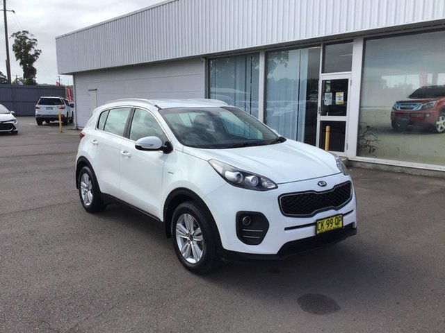 Used Kia Sportage QL MY17 Si AWD Cardiff, 2016 Kia Sportage QL MY17 Si AWD White 6 Speed Sports Automatic Wagon