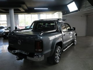 2018 Volkswagen Amarok 2H MY19 TDI580 4MOTION Perm Ultimate Grey 8 Speed Automatic Utility