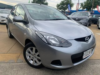 2009 Mazda 2 DE10Y1 Maxx Silver 4 Speed Automatic Hatchback.