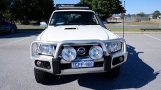 2006 Nissan Patrol GU IV MY05 DX White 5 Speed Manual Wagon