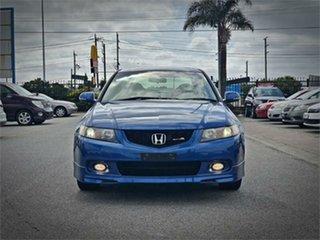 2003 Honda Accord Euro CL R Blue Manual Sedan.
