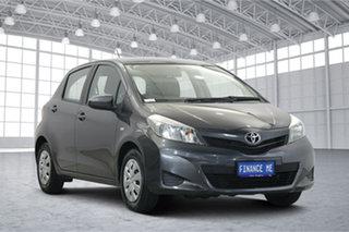 2011 Toyota Yaris NCP130R YR Grey 5 Speed Manual Hatchback.