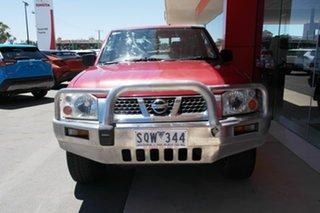 2004 Nissan Navara D22 S2 ST-R Red 5 Speed Manual Utility.