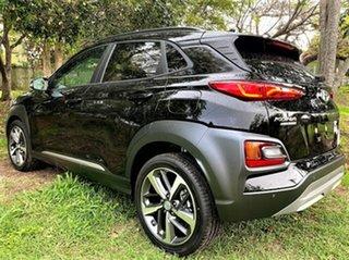 2020 Hyundai Kona OS.3 MY20 Highlander 2WD Phantom Black 6 Speed Sports Automatic Wagon.