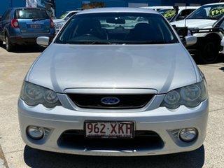 2007 Ford Falcon BF Mk II XR6 Silver 4 Speed Sports Automatic Sedan