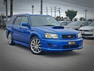 2004 Subaru Forester SG9 STi Blue Manual Wagon.