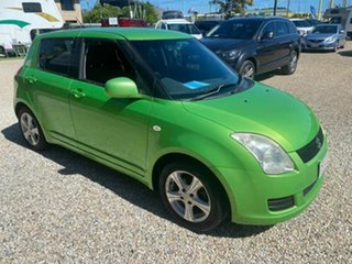 2010 Suzuki Swift EZ 07 Update Green 5 Speed Manual Hatchback.