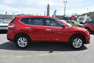 2017 Nissan X-Trail T32 ST 2WD Burning Red 6 Speed Manual Wagon.