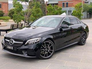 2020 Mercedes-Benz C-Class W205 800+050MY C200 9G-Tronic Black 9 Speed Sports Automatic Sedan.