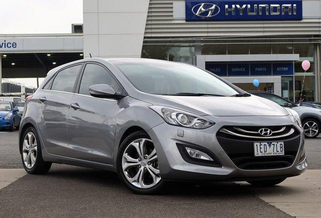 Used Hyundai i30 GD MY14 Premium South Melbourne, 2013 Hyundai i30 GD MY14 Premium Grey 6 Speed Sports Automatic Hatchback