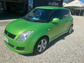 2010 Suzuki Swift EZ 07 Update Green 5 Speed Manual Hatchback