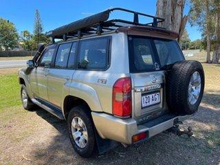 2005 Nissan Patrol GU IV MY05 ST Gold 4 Speed Automatic Wagon.