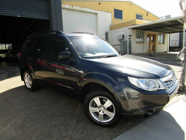 Used Subaru Forester S3 MY12 X AWD Luxury Edition Moorooka, 2012 Subaru Forester S3 MY12 X AWD Luxury Edition Grey 4 Speed Sports Automatic Wagon