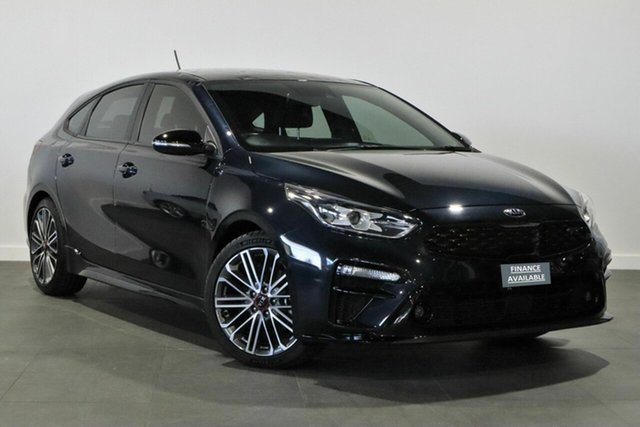 Used Kia Cerato BD MY19 GT DCT Bayswater, 2019 Kia Cerato BD MY19 GT DCT Blue 7 Speed Sports Automatic Dual Clutch Hatchback