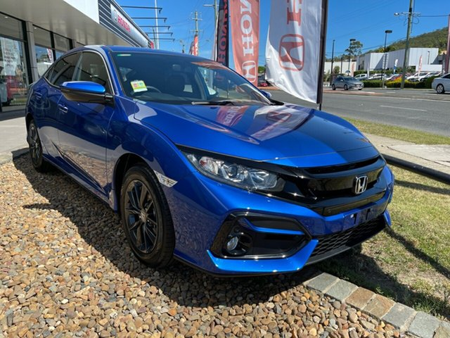 New Honda Civic 10th Gen MY20 VTi-S Mount Gravatt, 2020 Honda Civic 10th Gen MY20 VTi-S Blue 1 Speed Constant Variable Hatchback