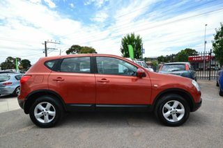 2008 Nissan Dualis J10 TI (4x4) Orange 6 Speed Manual Wagon.