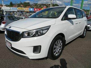 2017 Kia Carnival YP MY17 S White 6 Speed Sports Automatic Wagon.