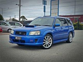 2004 Subaru Forester SG9 STi Blue Manual Wagon