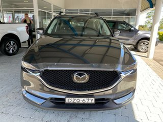 2018 Mazda CX-5 GT Machine Grey Sports Automatic Wagon.