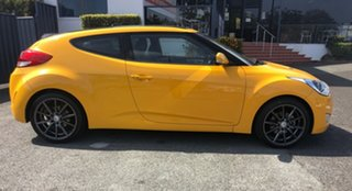 2012 Hyundai Veloster FS2 Coupe D-CT Yellow 6 Speed Sports Automatic Dual Clutch Hatchback