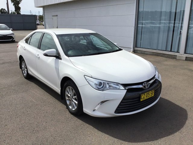 Used Toyota Camry ASV50R Altise Cardiff, 2017 Toyota Camry ASV50R Altise White 6 Speed Sports Automatic Sedan
