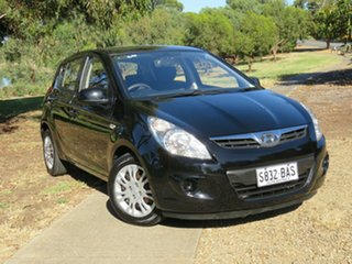 2011 Hyundai i20 PB MY12 Active Black 4 Speed Automatic Hatchback