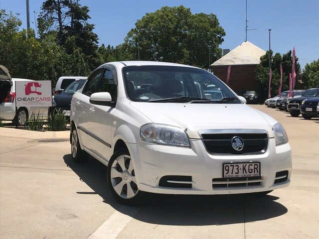 Used Holden Barina TK MY07 Toowoomba, 2007 Holden Barina TK MY07 White 4 Speed Automatic Sedan