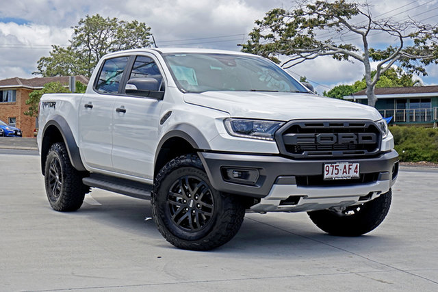 Used Ford Ranger PX MkIII 2020.25MY Raptor Capalaba, 2020 Ford Ranger PX MkIII 2020.25MY Raptor White 10 Speed Sports Automatic Double Cab Pick Up