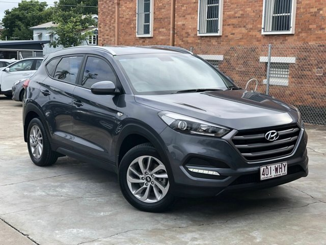Used Hyundai Tucson TLE Active 2WD Chermside, 2015 Hyundai Tucson TLE Active 2WD Grey 6 Speed Sports Automatic Wagon