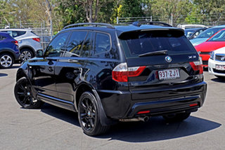 2009 BMW X3 E83 MY09 xDrive20d Steptronic Lifestyle Black Sapphire 6 Speed Automatic Wagon.