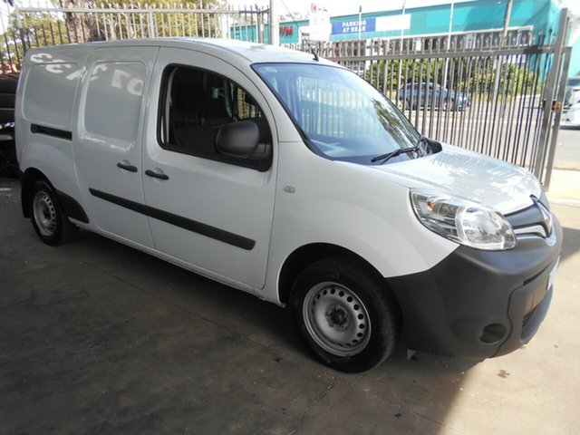 Used Renault Kangoo X61 MY14 Maxi Bankstown, 2016 Renault Kangoo X61 MY14 Maxi White 6 Speed Manual Van