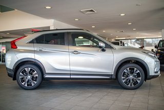 2019 Mitsubishi Eclipse Cross YA MY20 Exceed AWD Sterling Silver 8 Speed Constant Variable Wagon.