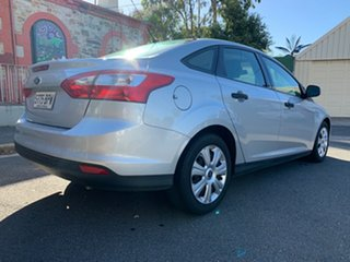 2011 Ford Focus LW Ambiente PwrShift Silver 6 Speed Sports Automatic Dual Clutch Sedan.