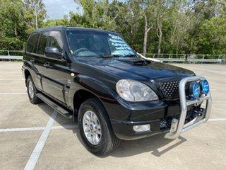 2006 Hyundai Terracan CRDi Black 4 Speed Automatic Wagon.