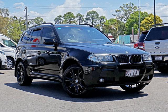 Used BMW X3 E83 MY09 xDrive20d Steptronic Lifestyle Chandler, 2009 BMW X3 E83 MY09 xDrive20d Steptronic Lifestyle Black Sapphire 6 Speed Automatic Wagon