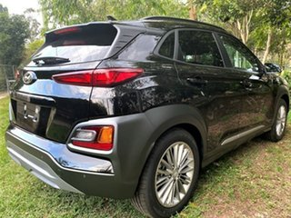 2020 Hyundai Kona OS.3 MY20 Elite 2WD Phantom Black 6 Speed Sports Automatic Wagon